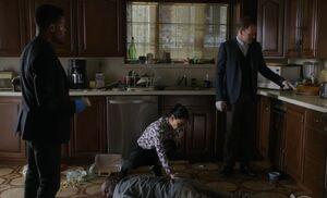 S06E09-Robinson crime scene