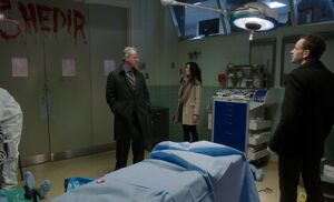 S01E14-Hospital crime scene