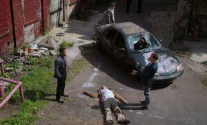 S03E03-Lowenthal murder scene