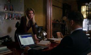 S07E08-Watson Holmes evidence wall
