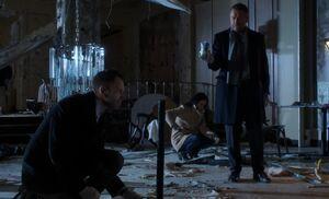 S02E16-Holmes Watson Lestrade bomb scene