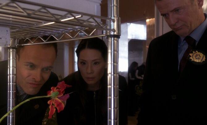 S03E10-Holmes Watson Gregson flower