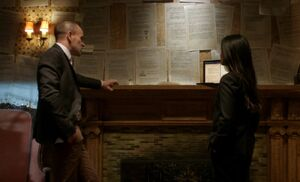 S05E18-Log book on wall