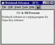 Notebookadvance