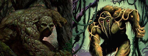swamp thing man thing
