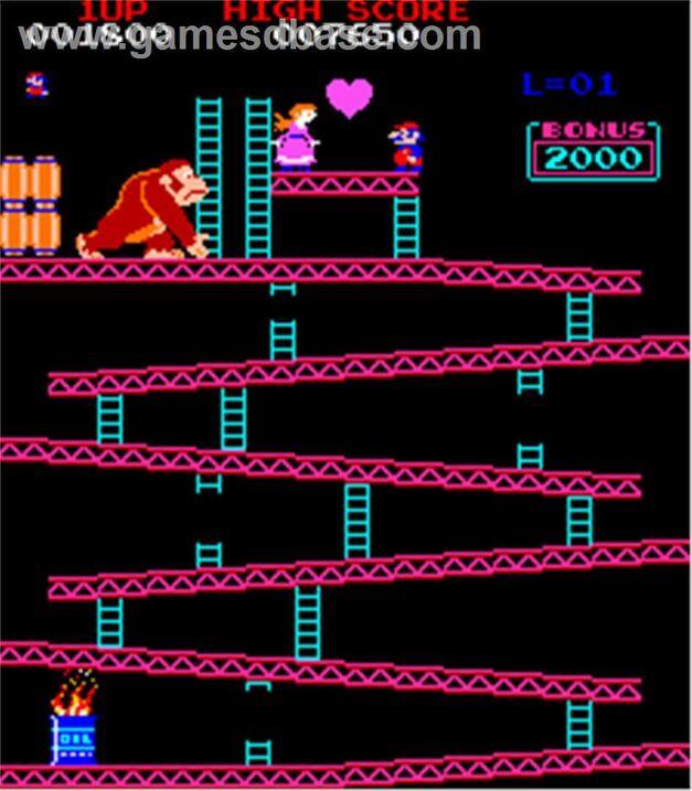 Donkey Kong Avviversary Mario Arcade Game