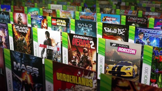 A collection of backwards-compatible Xbox games.