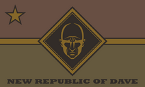 New Republic of Dave flag 3