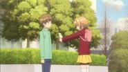 Clear Prologue - Sakura gives Syaoran Kaho's gift
