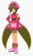 Movie 2 Costumes#Sakura's costume