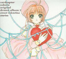 Cardcaptor sakura original drama album 2 sweet valentine stories Front