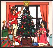 Cardcaptor Sakura Tomoeda Shougakkou Chorus-bu Christmas Concert Case Interior