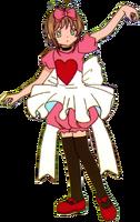 Red Wonderland Heart Costume