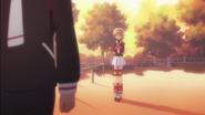 Clear Prologue - Syaoran leaves a stunned Sakura