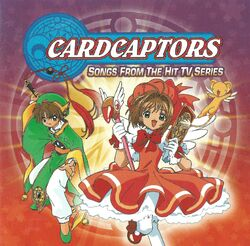 CARDCAPTORS SONGS FROM THE HIT TV SERIES Front