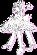 Tiara and Ruffles Costume