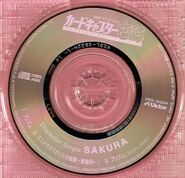 Cardcaptor Sakura Character Single SAKURA Disc