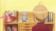 Clear Prologue - Sakura looks at Syaoran's bear