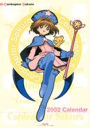 Cardcaptor Sakura 2002 Calendar