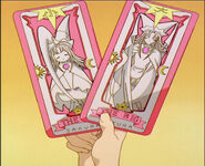 The Big & Little Sakura Card