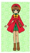 Sakura's Red Coat