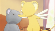 Clear Prologue - Kero with Syaoran bear