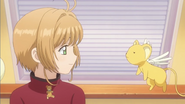 Clear Prologue - Sakura tells Kero she wants to make the bear alone