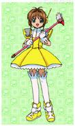 Sakura's Umbrella costume
