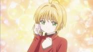 Clear Prologue - Sakura resolves to reah Syaoran on time
