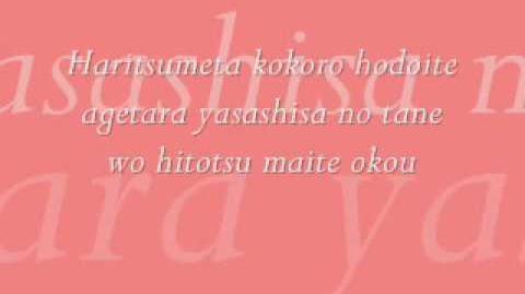 Yasashisa no tane by daidouji tomoyo LYRICS