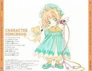 CARDCAPTOR SAKURA CHARACTER SONGBOOK Back