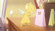 Clear Prologue - Kero with Kaho's gifts