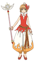Flame Harem Costume