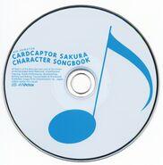 CARDCAPTOR SAKURA CHARACTER SONGBOOK Disc
