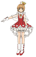 Red Hearts Outfit