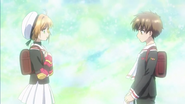 Clear Prologue - Syaoran confesses his love for Sakura