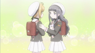 Clear Prologue - Tomoyo reassures Sakura