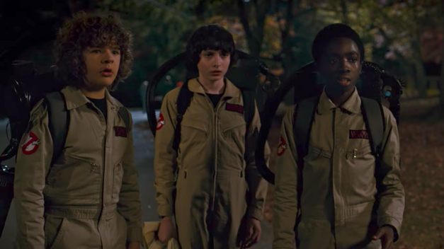 stranger things 2 sdcc17 trailer ghostbusters