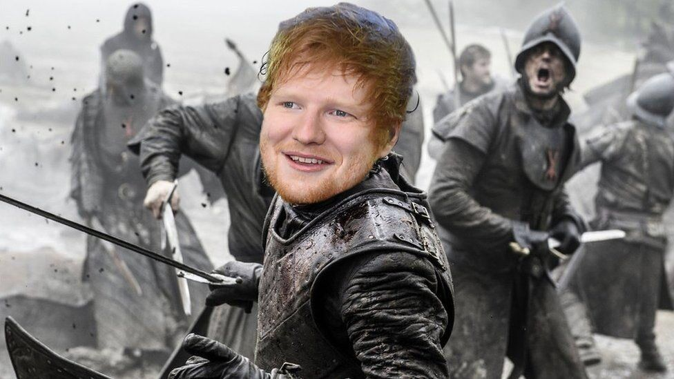 Everyones Tweeting Out Loud About Ed Sheeran On Game Of Thrones - 17 hilarious reactions to ed sheeran appearing in game of thrones