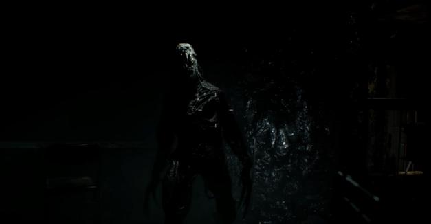 A monster in Resident Evil 7