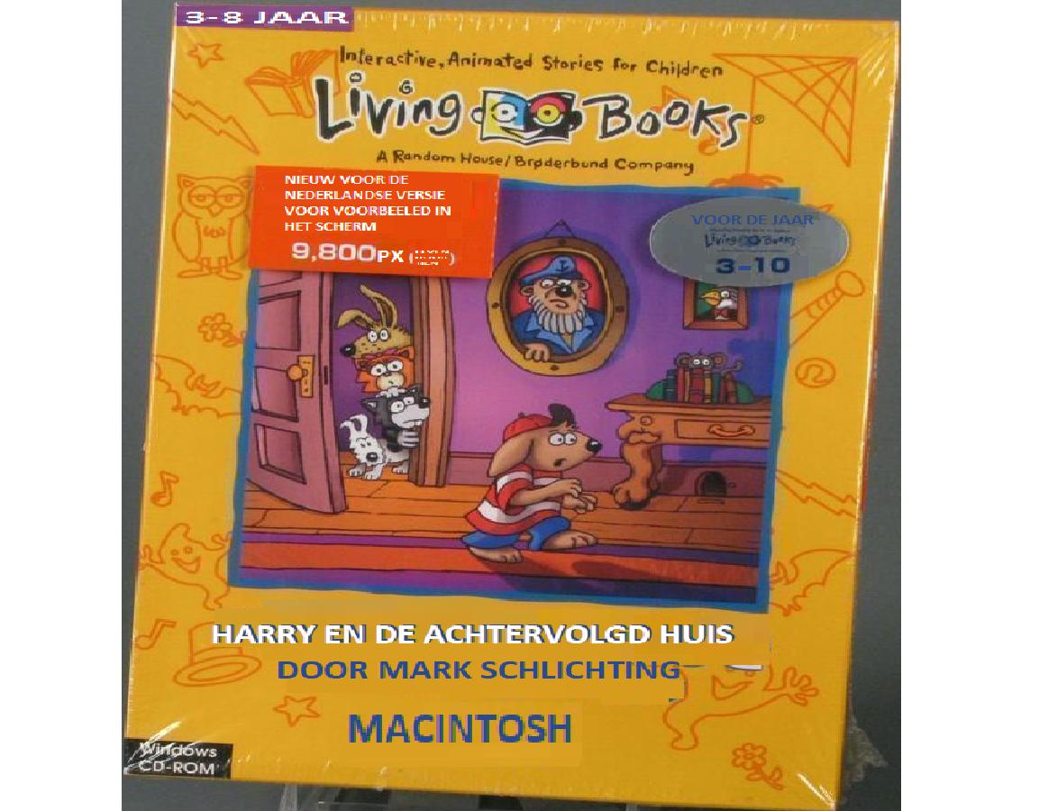 Harry en de Achtervolgd Huis (CD-ROM, Living Books, Harry