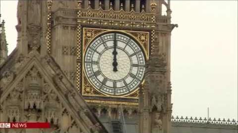 The Slitheen and the Final Big Ben Bongs