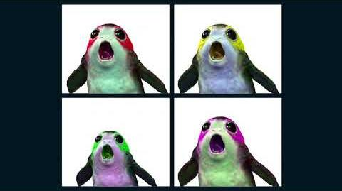 Feel Good Inc. but with the Star Wars Porg sound