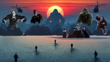 20 KONGS IN KING KONG SKULL ISLAND