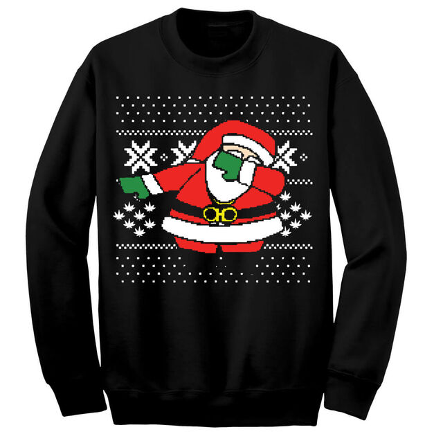 "2Chainz ""Dabbing Santa"" Ugly Sweater"