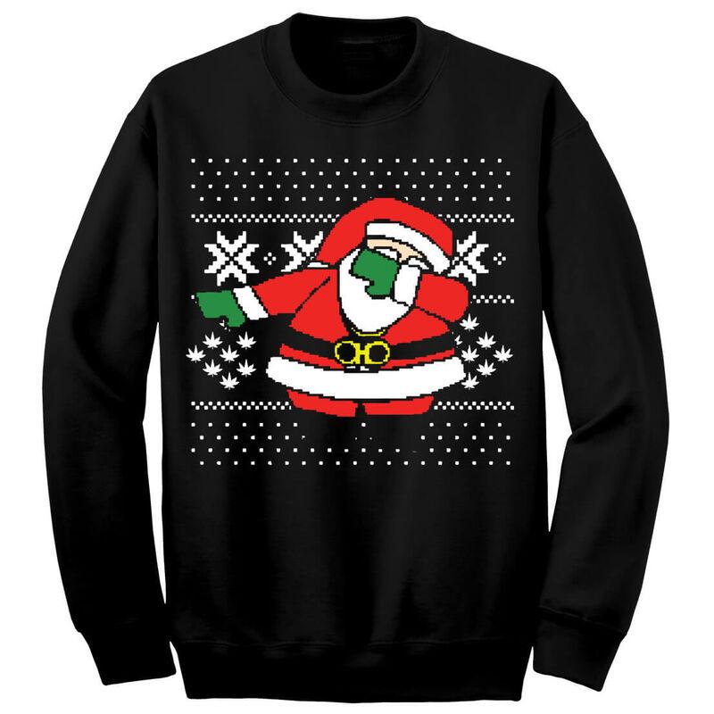 "2Chainz ""Dabbing Santa"" Ugly Sweater"