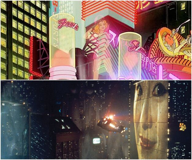 Comparison between Blade Runner and Akira