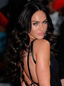 Megan Fox Hairstyles 2011