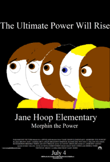 Jane Hoop Elementary Morphin the Power theatrical poster