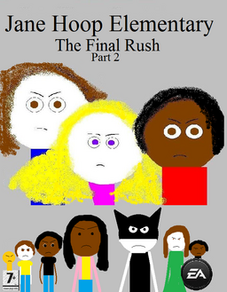 Jane Hoop Elementary The Final Rush Part 2 video game poster
